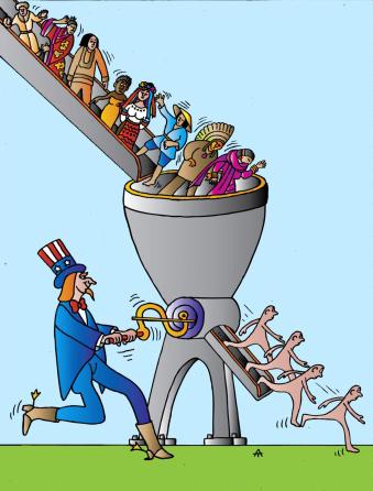 Глобализация - угроза правам человека, свободе совести и вероисповедания.